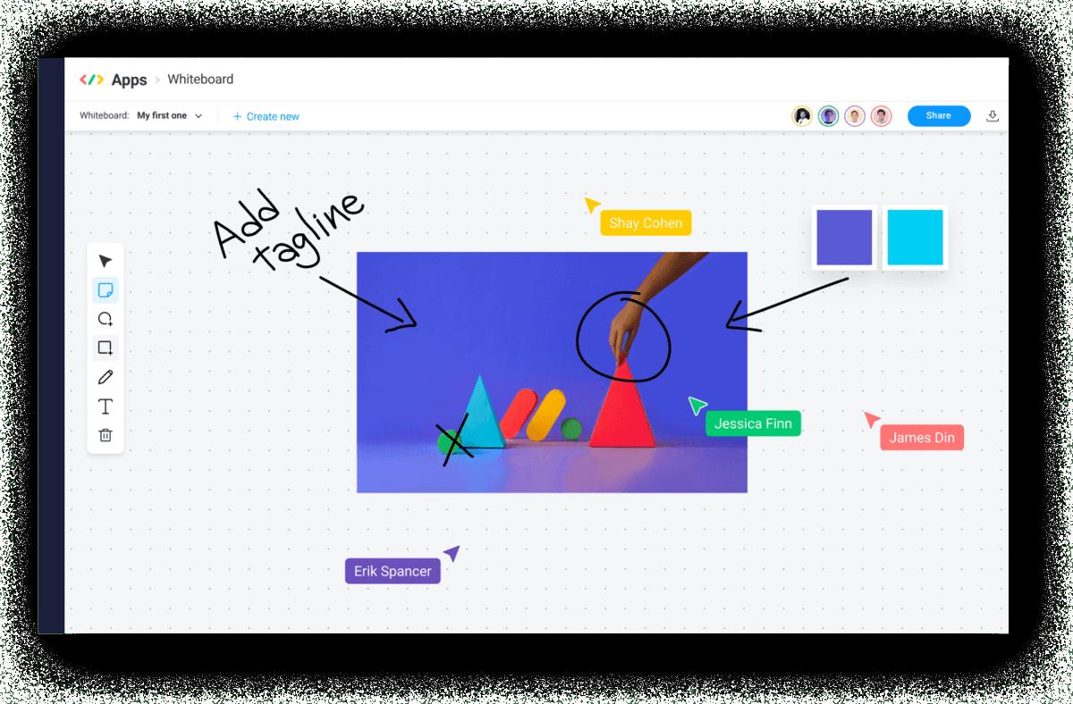 brainstorming on monday.com
